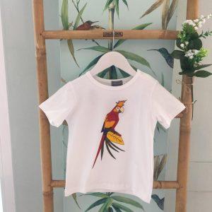 Camiseta blanca Loro
