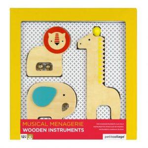 Set de sonajeros de madera