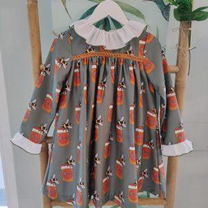 Vestido Tarros de Miel MON PETIT BONBON