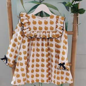 Vestido Manzanas MON PETIT BONBON