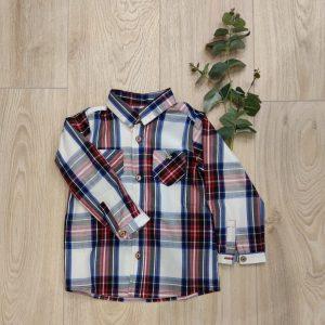 Camisa Cuadro Escoces TUL Y POMPON