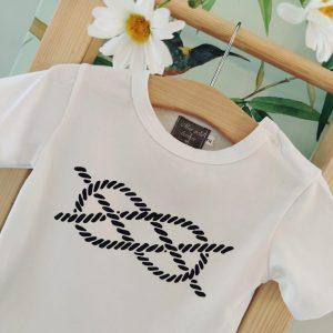 Camiseta niño nudo MON PETIT BONBON