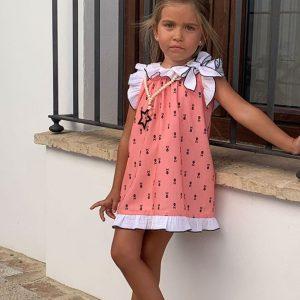 Vestido bebé calaveras PILAR BATANERO