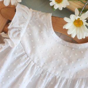 Blusa plumeti blanca CESAR blanco