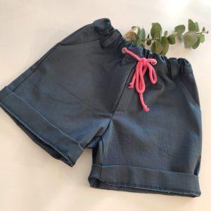 Pantalón azul/fucsia CESAR BLANCO