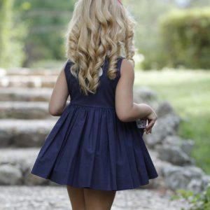 Vestido azul/estrellas LA PEPPA