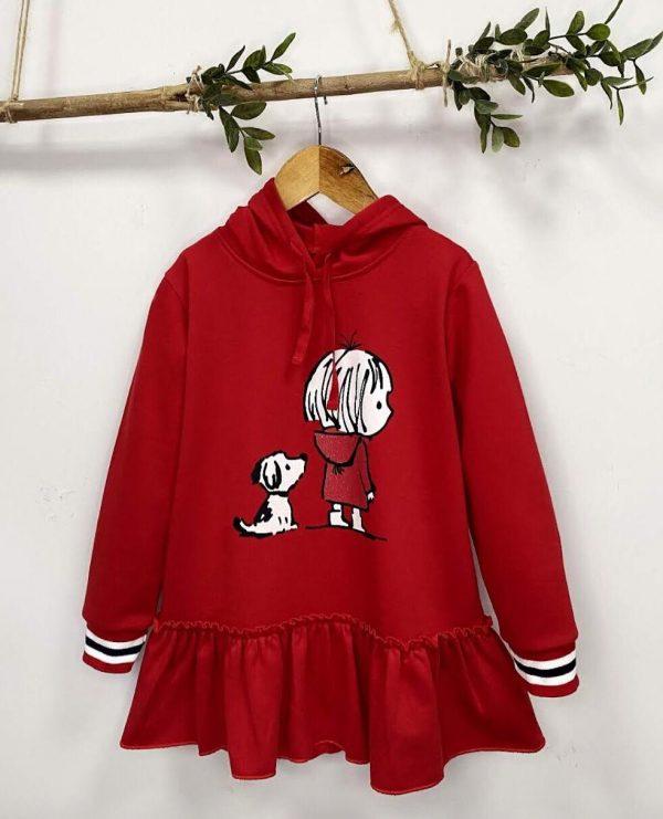 Vestido rojo PERRO