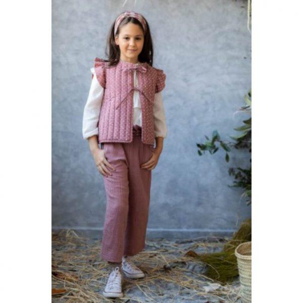 Pantalón Bambula Rosa