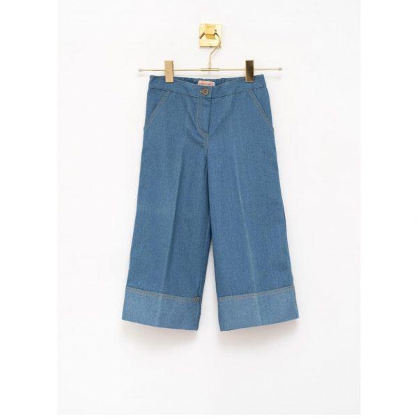 Pantalón Crop Denim