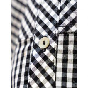 Camisa Mao Vichy Negro LUNARES EN MAYO